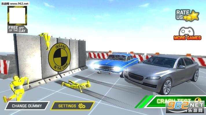 林肯汽车碰撞试验游戏v1.0(Lincoln Car Crash Test)_截图3