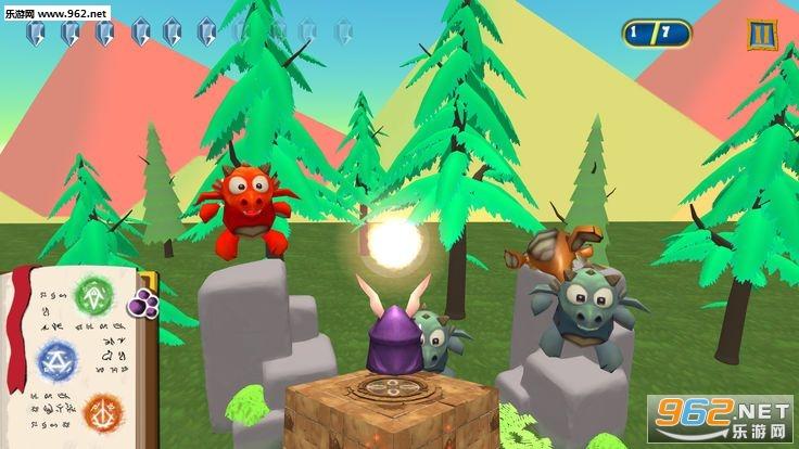 魔法兔子VS龙官方版_截图2