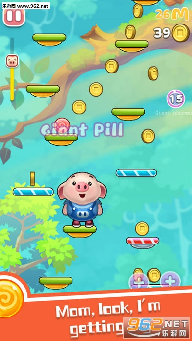 跳跃的小猪Jumping Piglet手游_截图0