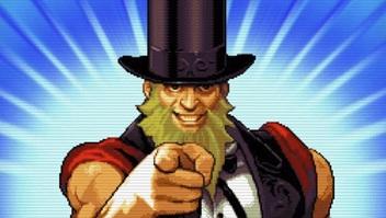 卡普空《街霸5》射击小游戏公布 红白机复古风格