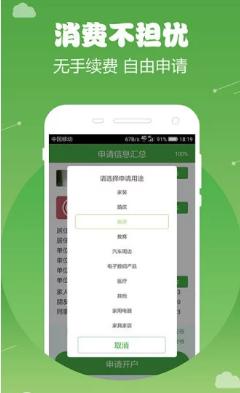商信贷app_截图0