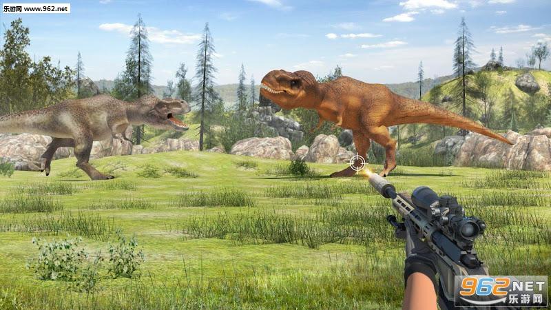 恐龙猎人食肉动物3D游戏v1.7_截图0