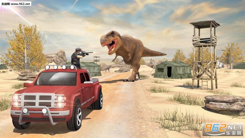 恐龙猎人食肉动物3D游戏v1.7_截图1