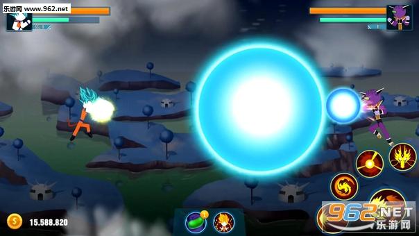 龙珠超火柴人勇士安卓版v0.8.6截图1