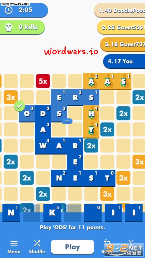 Wordwars.io游戏
