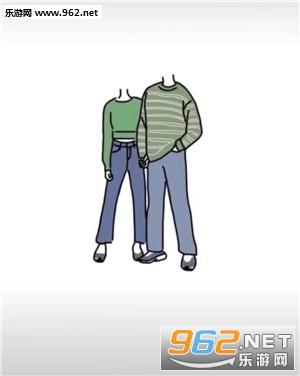 情侣抠图怎么把头p上去 情侣抠图素材无头高清图片