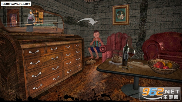 幽灵奶奶恐怖屋安卓版v1.0_截图1