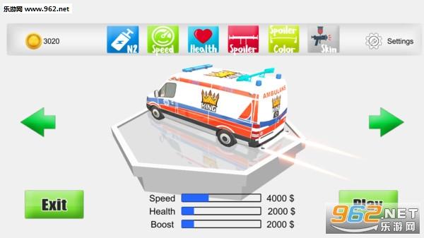 狂躁的救护车安卓版v1.1_截图0