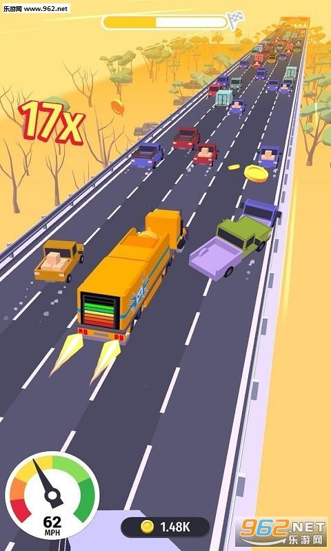 横冲直撞粉碎公路安卓版v0.1_截图1