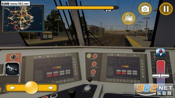 火车轨道模拟器2019安卓版v1.01_截图0