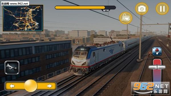 火车轨道模拟器2019安卓版v1.01_截图1