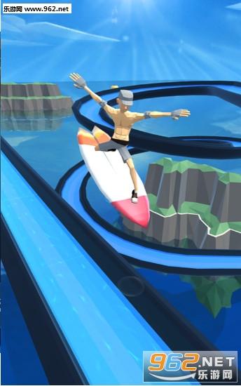 疯狂冲浪大冒险游戏v2.0(Aquatic Surfing Adventure)_截图2