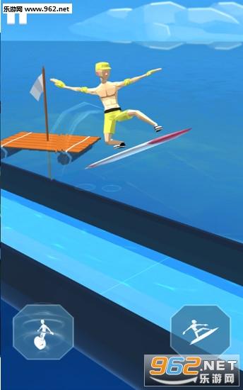 疯狂冲浪大冒险游戏v2.0(Aquatic Surfing Adventure)_截图0