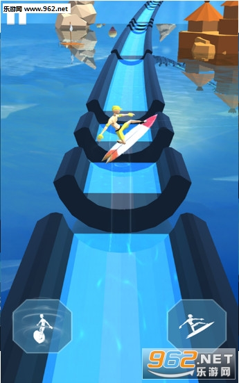 疯狂冲浪大冒险游戏v2.0(Aquatic Surfing Adventure)_截图1
