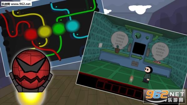 解谜学校游戏5外星人飞船密室逃脱安卓版v1.0.1截图0