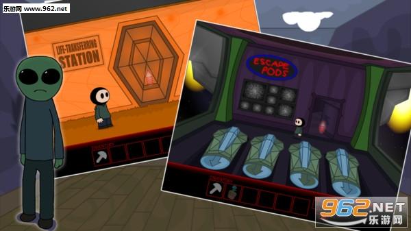解谜学校游戏5外星人飞船密室逃脱安卓版v1.0.1截图3