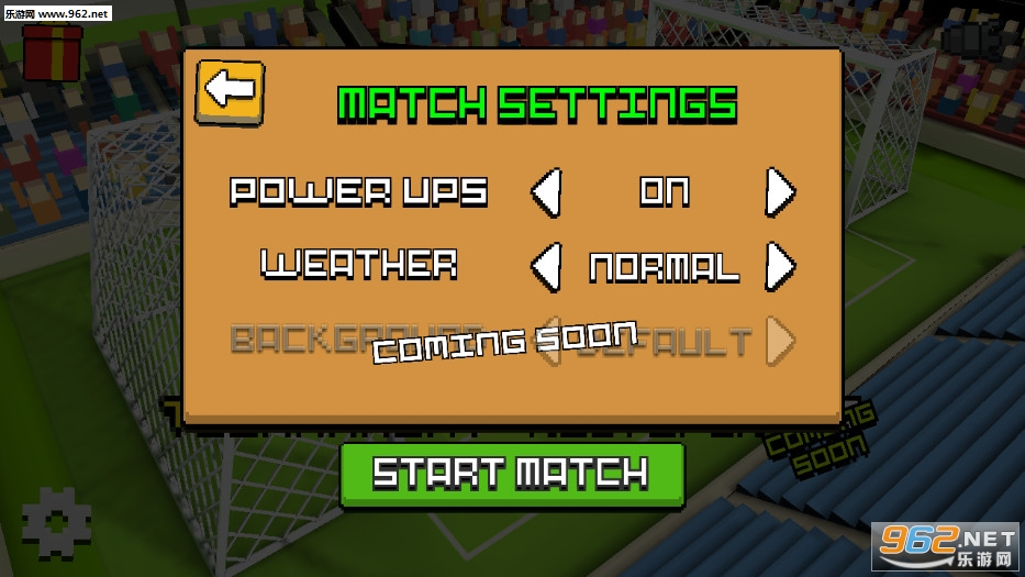 方块足球赛3D安卓版v1.1.2_截图1