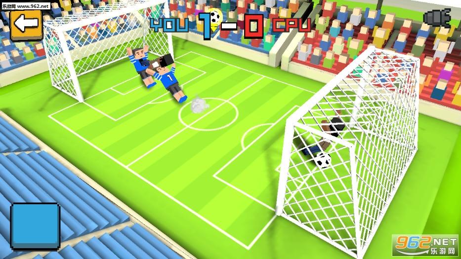 方块足球赛3D安卓版v1.1.2_截图2