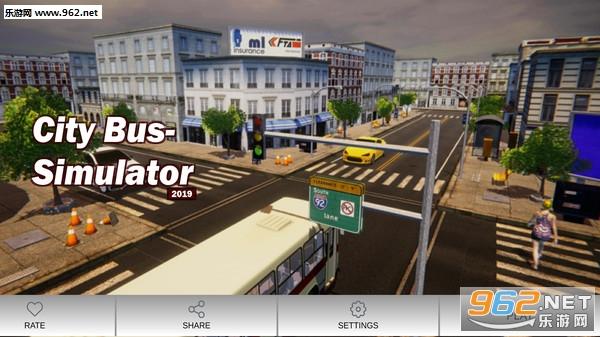 公交车司机模拟器手机游戏v1.0_截图2
