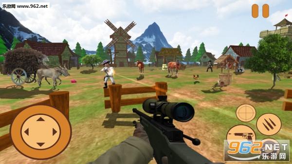 迷你牛仔狙击兵3D安卓版v1.0_截图2
