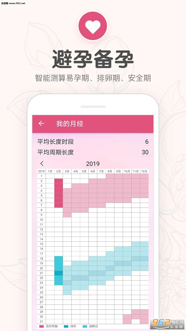 樱桃生理期小月历appv1.24截图2