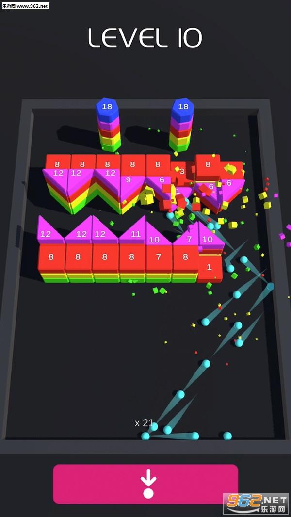 打破砖块3D安卓版v1.3截图0
