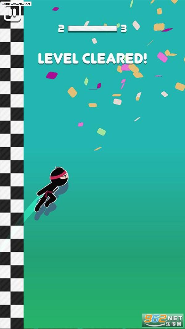 火柴人跳跳忍者安卓版v1.1_截图2