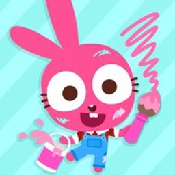 泡泡兔快乐画画数字填色官方版 v1.0.1