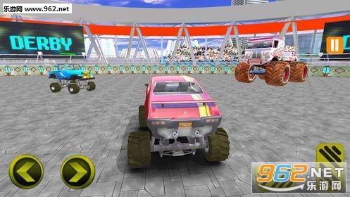怪物卡车战斗模拟器游戏_截图0