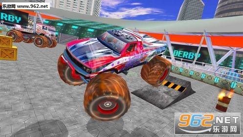 怪物卡车战斗模拟器游戏_截图1
