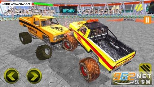 怪物卡车战斗模拟器游戏_截图2