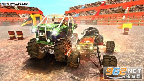 怪物卡车战斗模拟器游戏_截图3