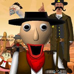 野生西部的巴尔迪警长游戏(Sheriff Baldi in Wild West) v1.0