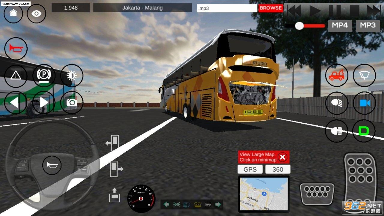 idbs巴士模拟器游戏v5.1(IDBS Bus Simulator)_截图1