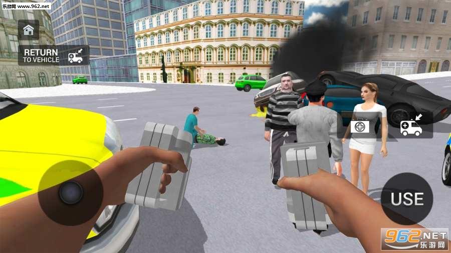 救护车模拟器游戏v1.0.1_截图0
