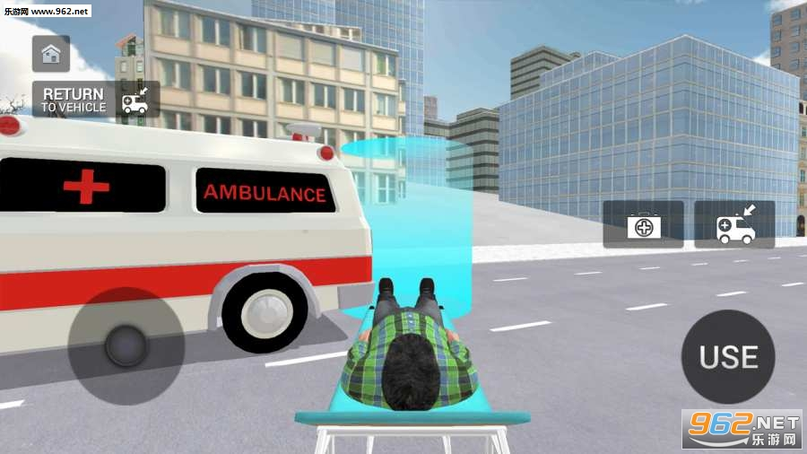 救护车模拟器游戏v1.0.1_截图1