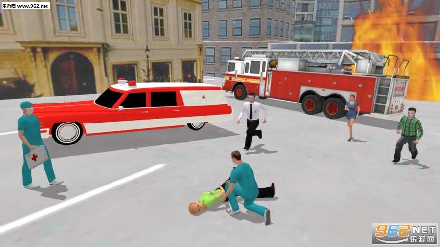 救护车模拟器游戏v1.0.1_截图2