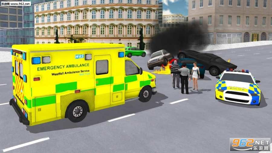 救护车模拟器游戏v1.0.1_截图4