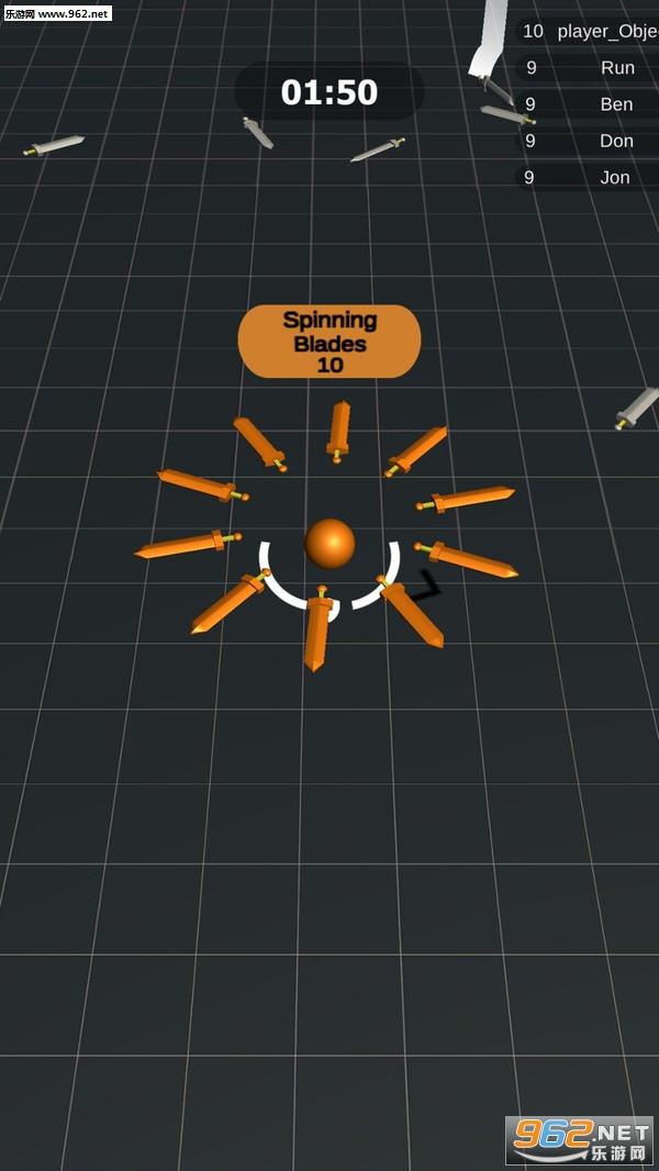 旋转刀刃安卓版v1.1(SPINNING BLADES)_截图3