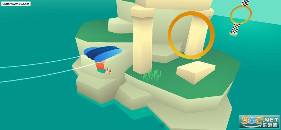 滑翔机大作战官方版v2.0.0(Island Glider)_截图1