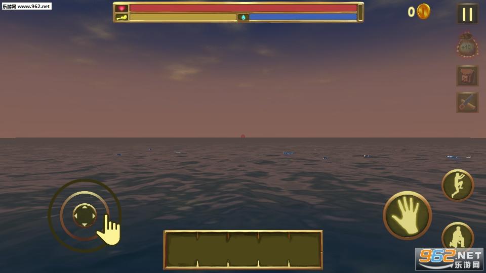 木筏生存逃离鲨鱼手机版v1.0_截图1