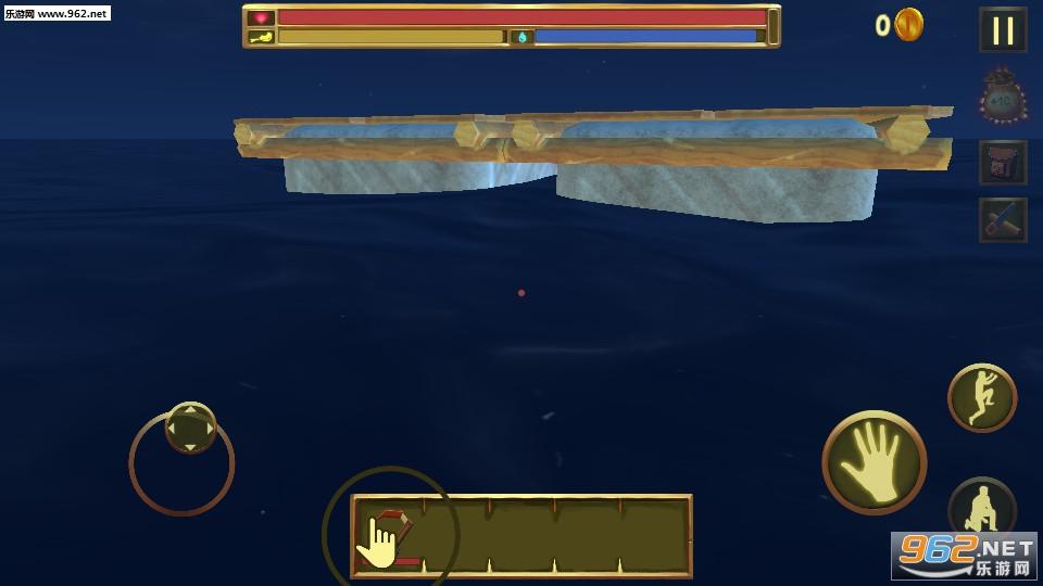 木筏生存逃离鲨鱼手机版v1.0截图2