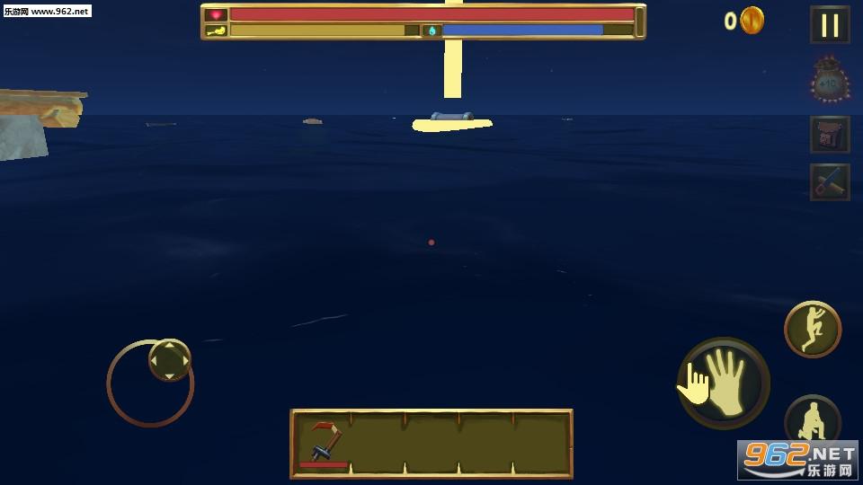 木筏生存逃离鲨鱼手机版v1.0截图3
