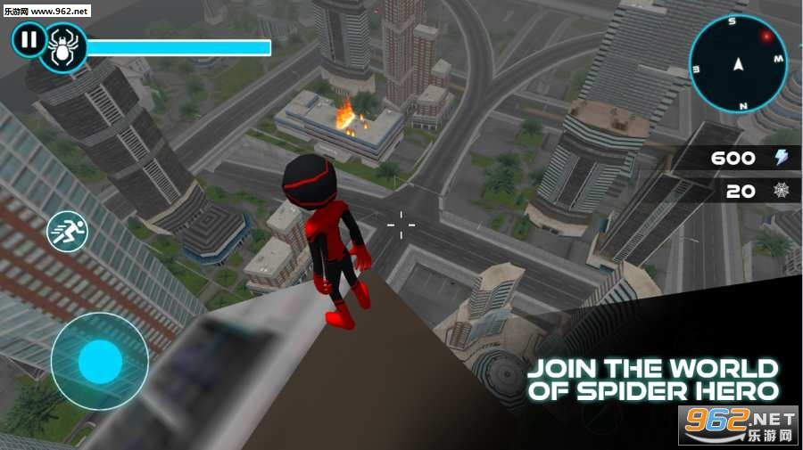 蜘蛛英雄火柴人战士安卓版v1.5_截图0