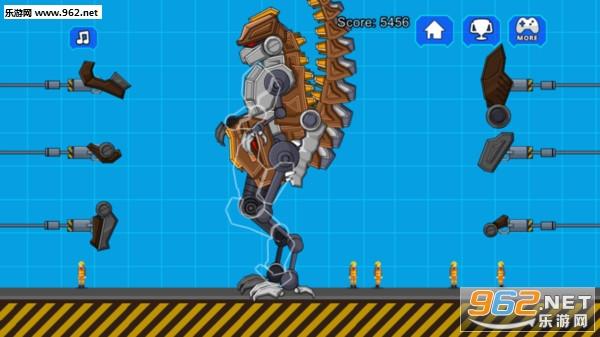 组装机械恐龙游戏v1.0 手机版_截图2