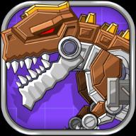组装机械恐龙游戏