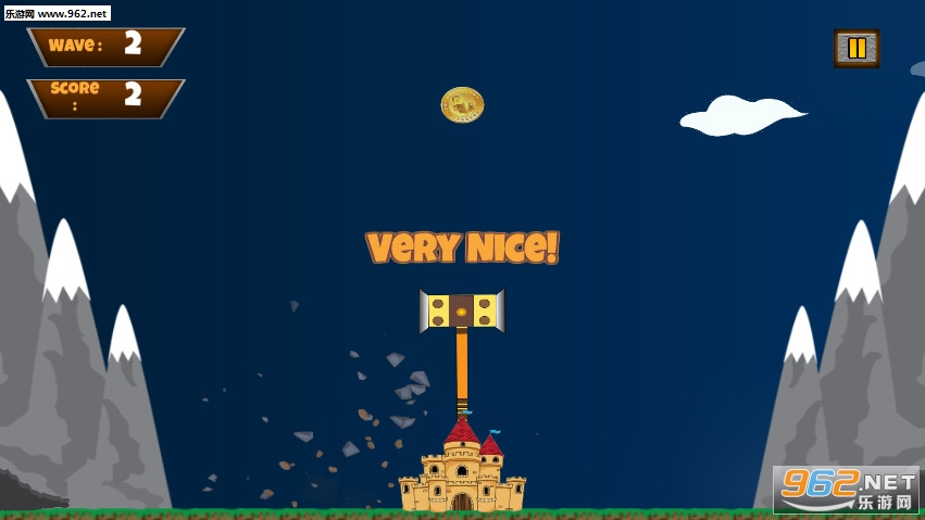 城堡锤摇摆粉碎时间手游v1.1截图1
