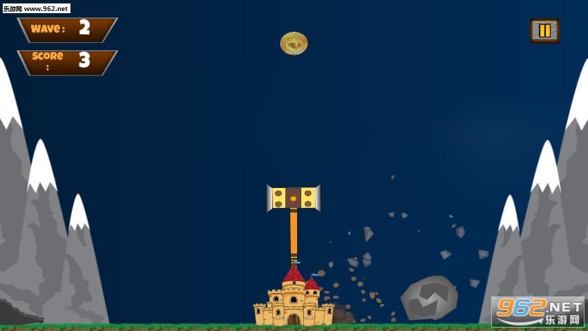 城堡锤摇摆粉碎时间手游v1.1截图2