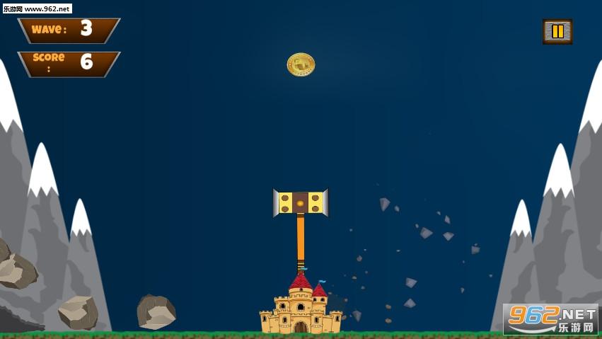 城堡锤摇摆粉碎时间手游v1.1截图3