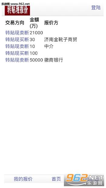 汇通票据网appv1.0 苹果版_截图1